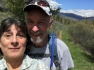 Bob-Lee and wife-out West