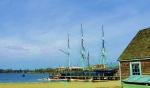 Charles W. Morgan-last wooden whaleship-Mystic050318-Mystic, May, 2018