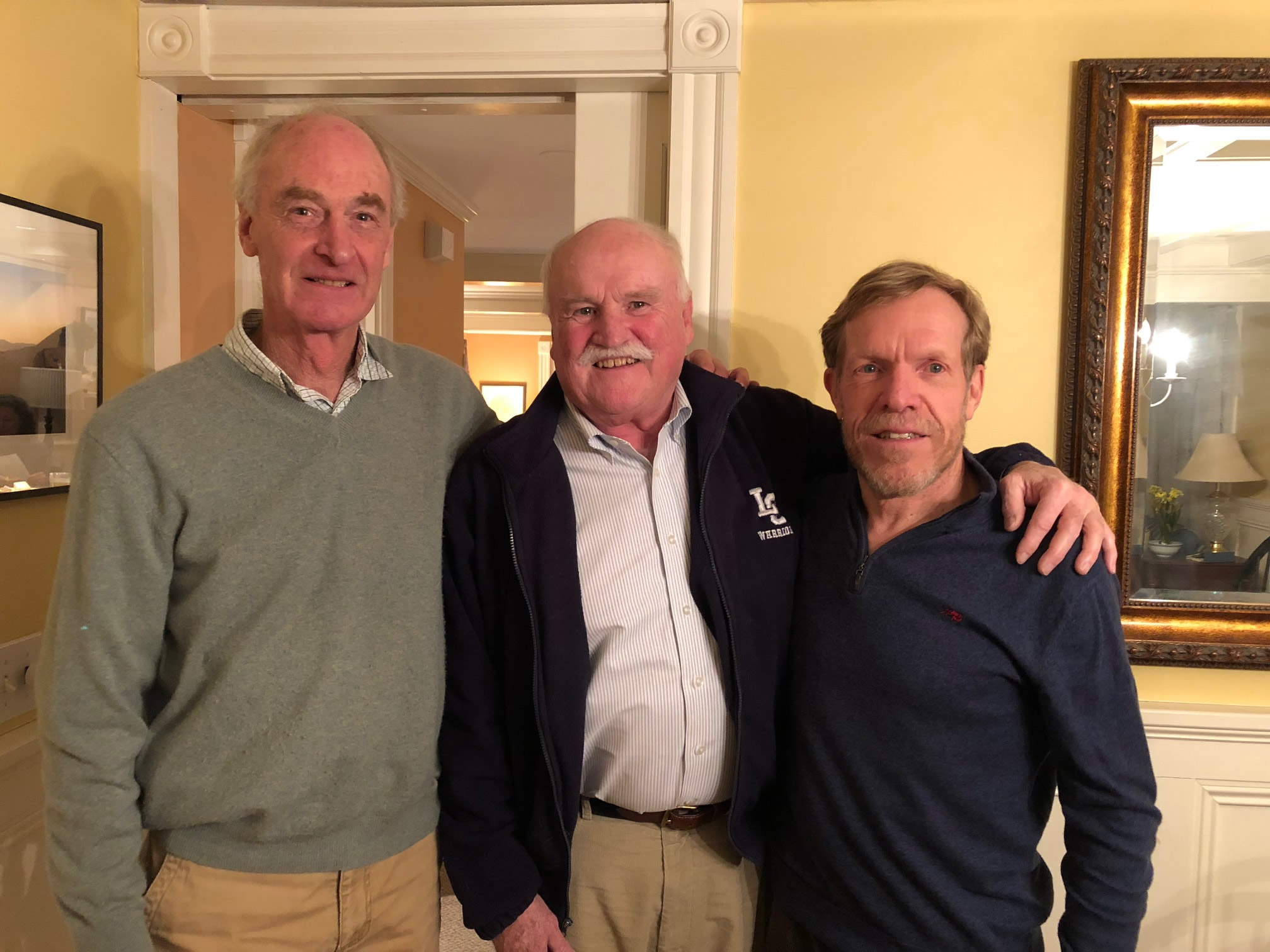 Gary Benson, Lou Buck, Whit Knapp, Williams Hockey, March '18
