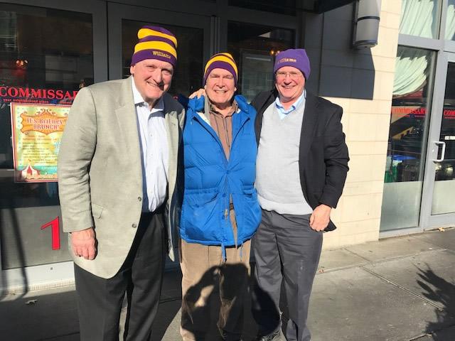 Paul Miller, Charlie Ebinger, Ray Kimball, D.C. Nov 29, 2018