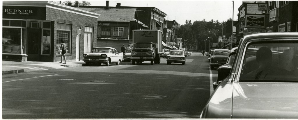 Spring Street, Williamstown, Massachusetts, early 1960's