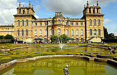 Blenheim Palace, Woodstock, Oxfordshire, UK, on River Glyme Courtesy Patty Pingree, '67