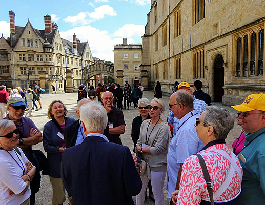 Williams '69 Oxford tour with Guide, 2018