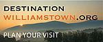 Destination Williamstown.org. Plan Your Visit. Picture showing mountains and trees