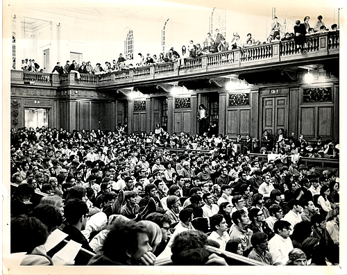 Chapin Hall Student/Faculty Meeting, Wednesday, May 3, 1970